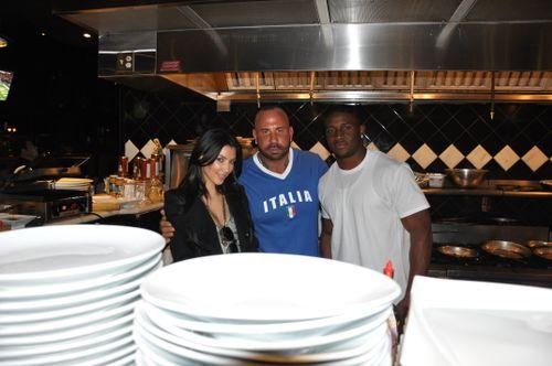 Kimkardashian,stevemartorano&reggierush