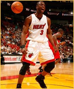 Wade angry