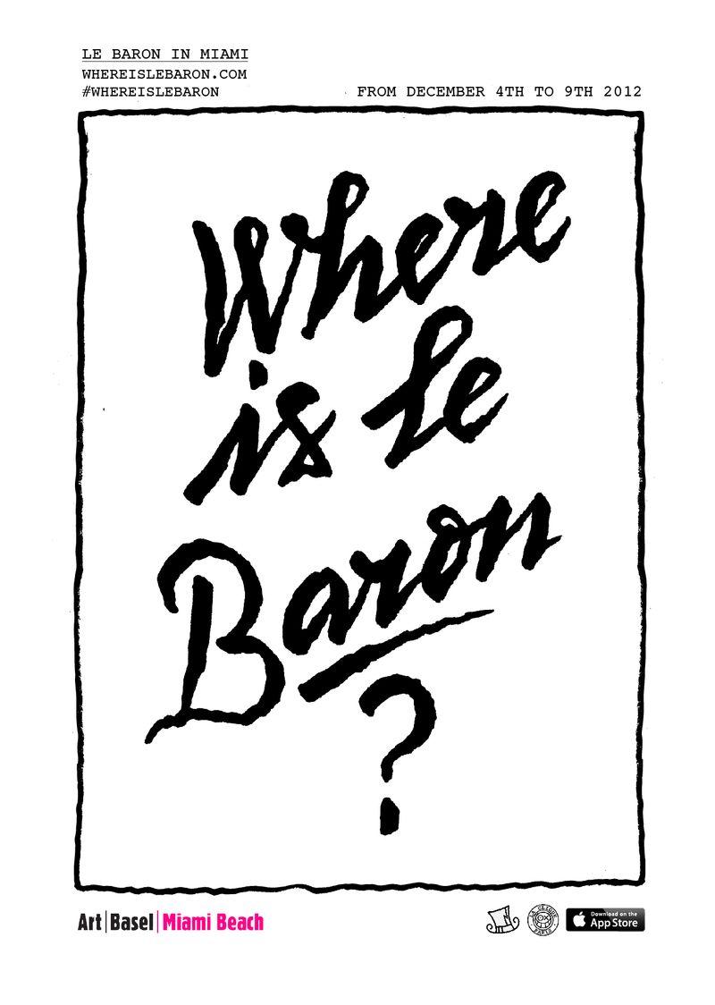 WhereisLeBaronPoster