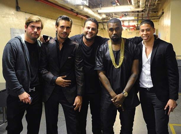 Kanye-West-ennoir-leather-uneck-tee-Scott-Disick-Dave-Grutman