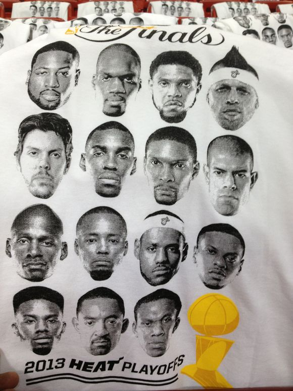 Game 7 T-shirt giveaway