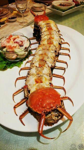 Centipede-crab