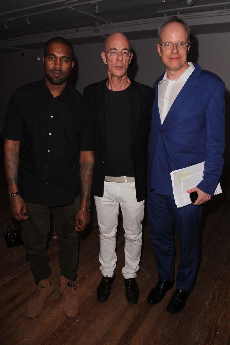 Kanye West_Jacques Herzog_Hans Ulrich Obrist