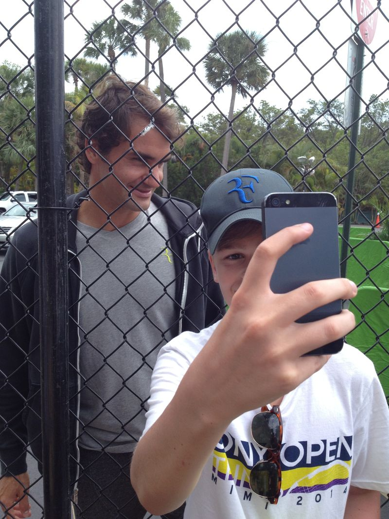 Roger and Selfie