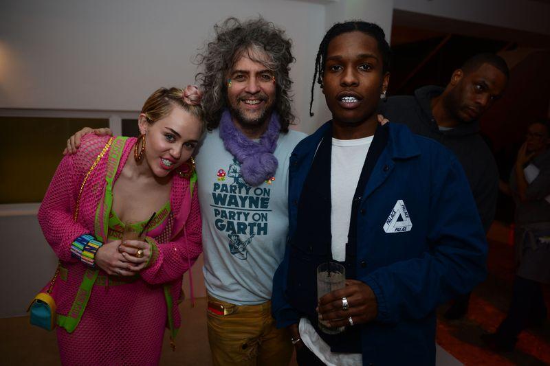 Miley Cyrus, Wayne Coyne, & ASAP Rocky1