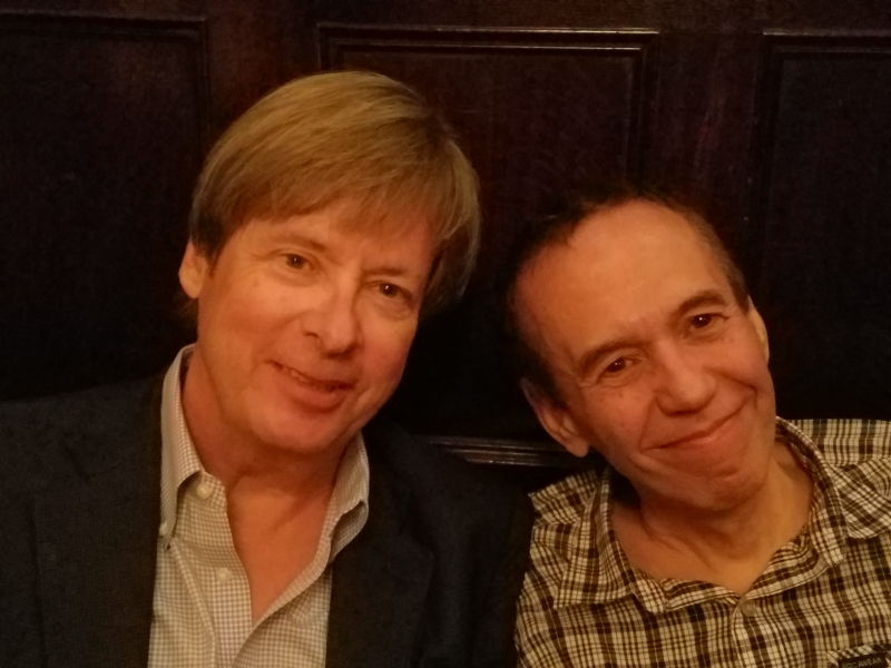 DB and Gilbert Gottfried