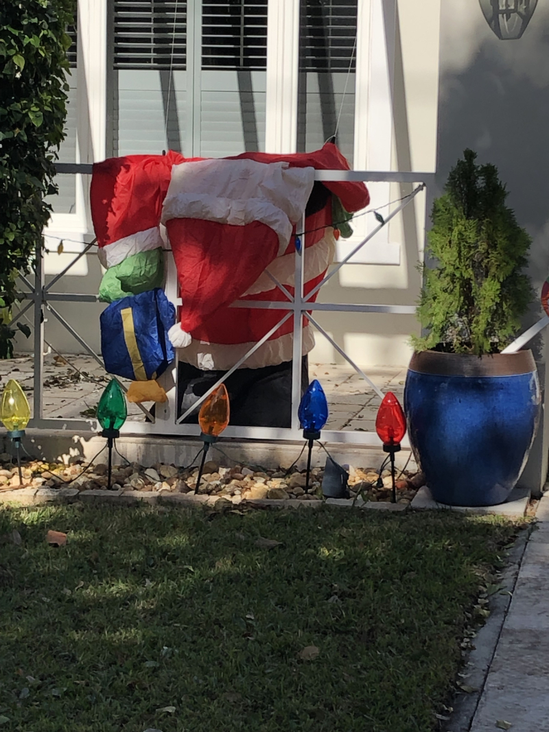 Hungover Santa